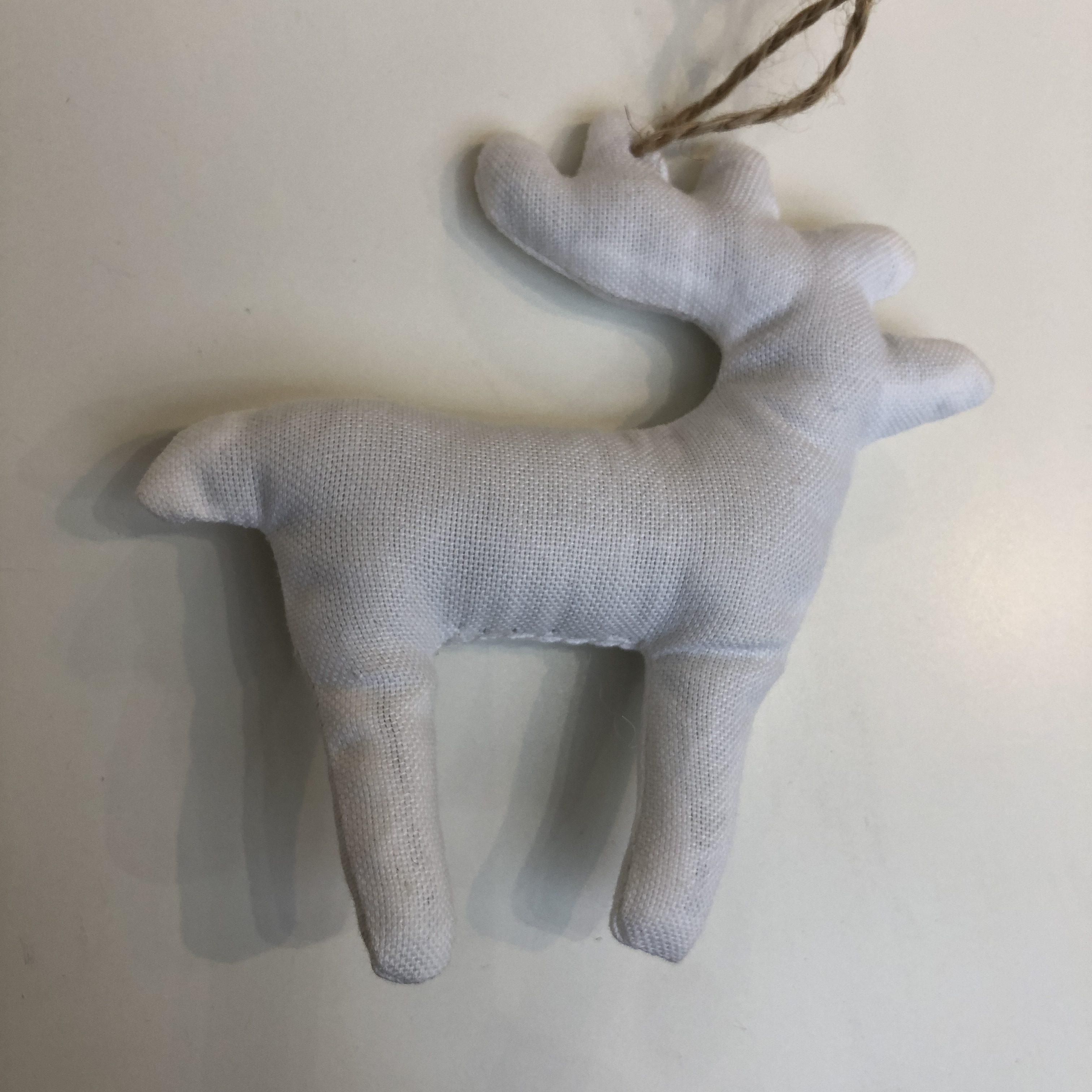 Vivi Gade Hanging Fabric Bird and Reindeer