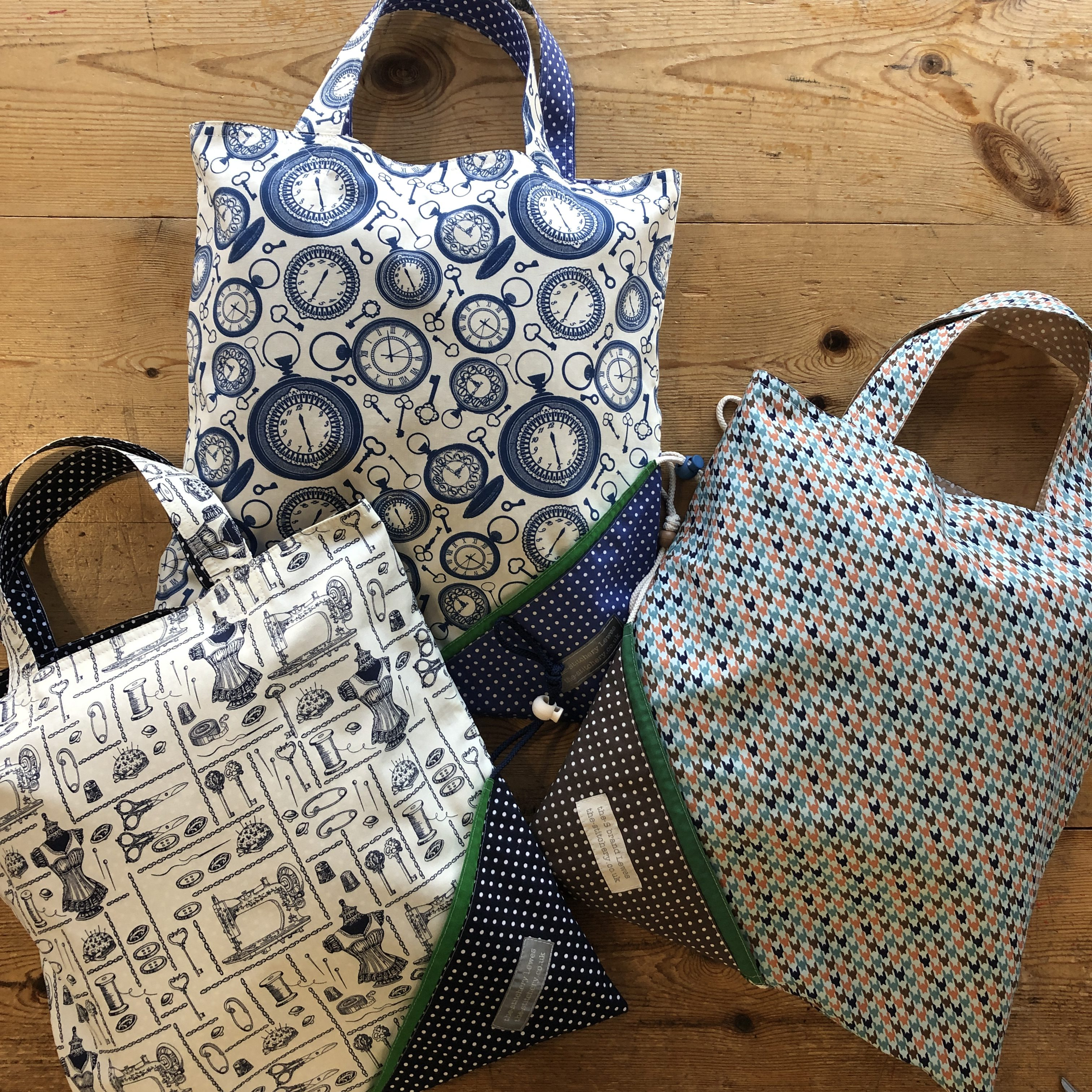 the-S bag-cotton ready made