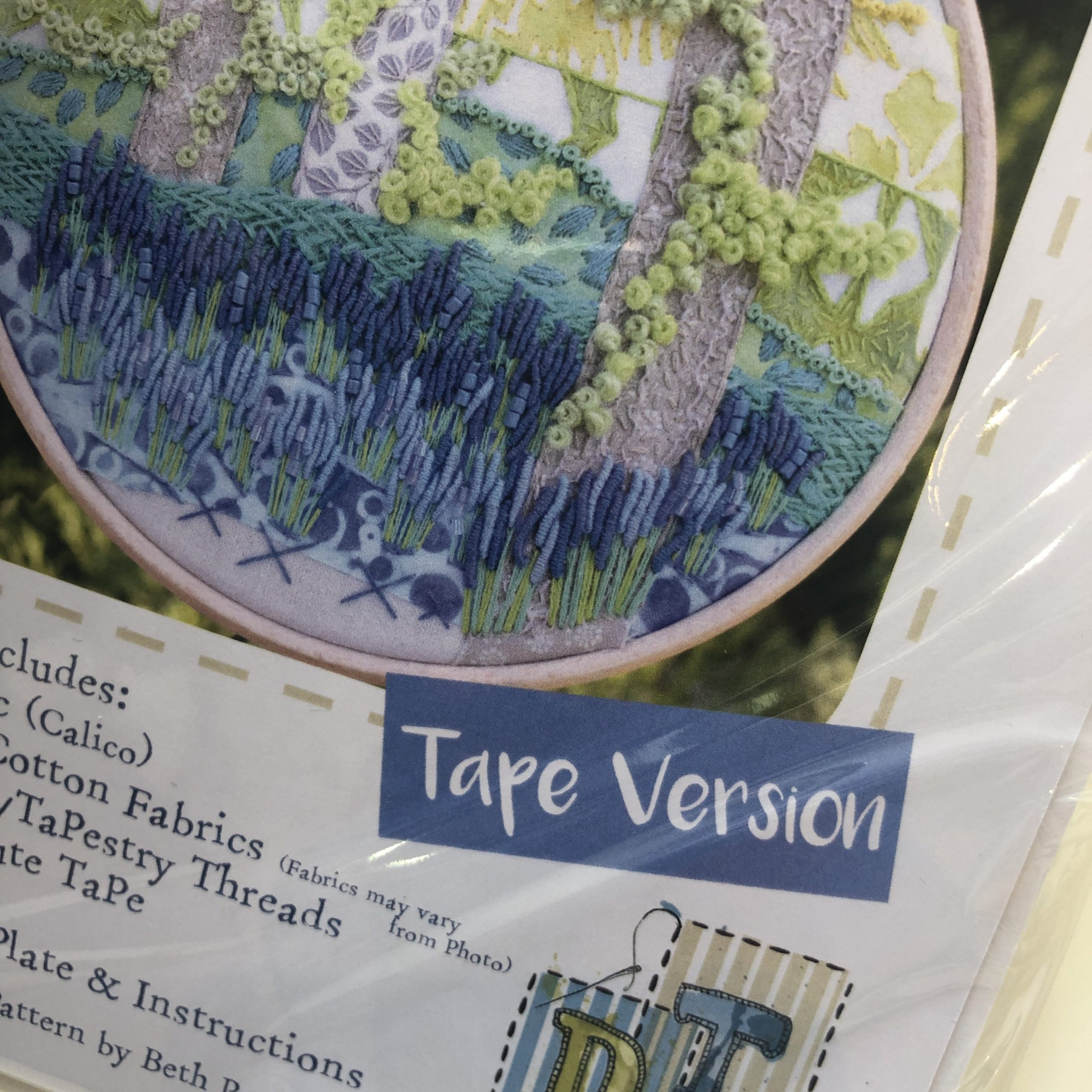 Stitchscape Bluebell Garden Embroidery Kit