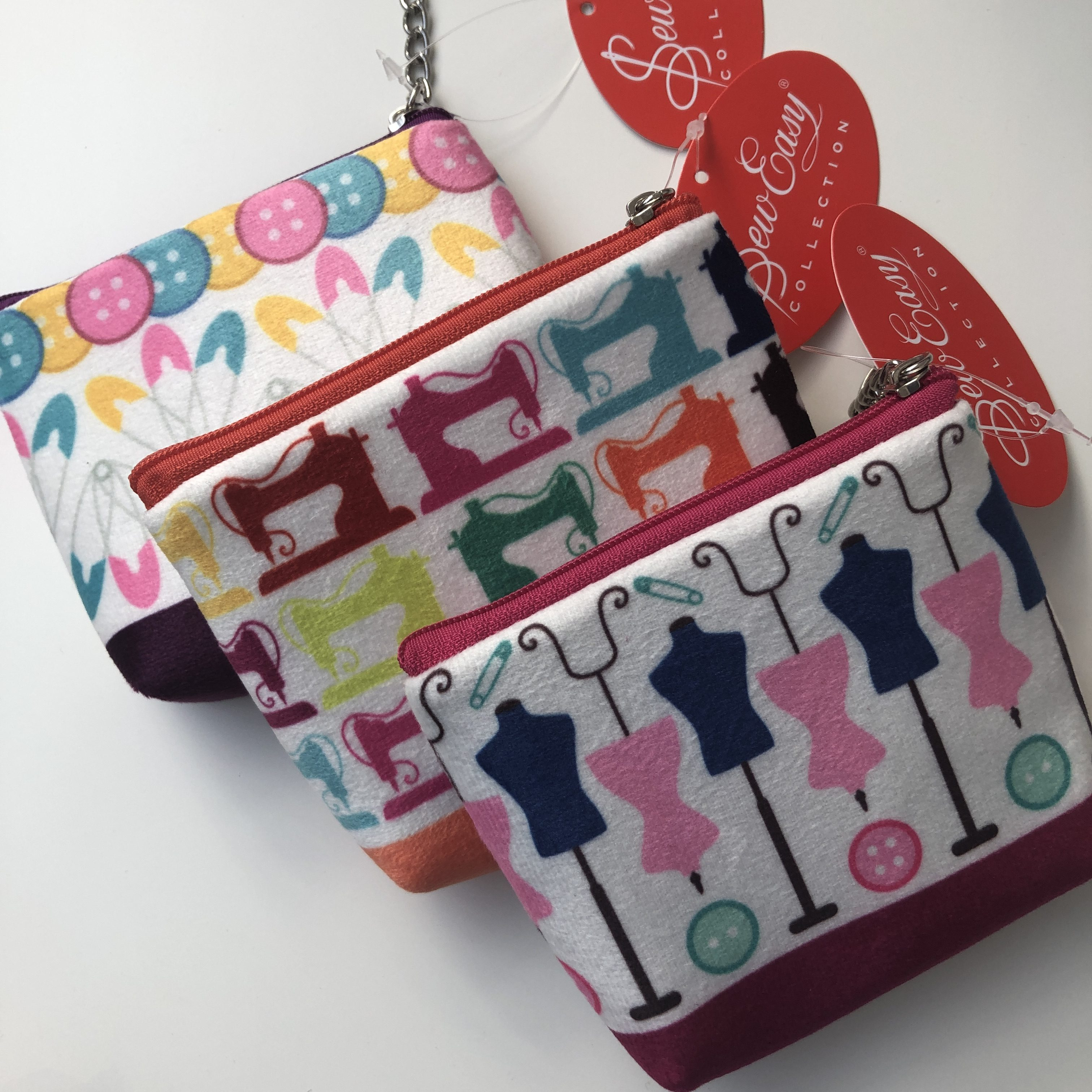 Soft Sewing Zipped Pouch