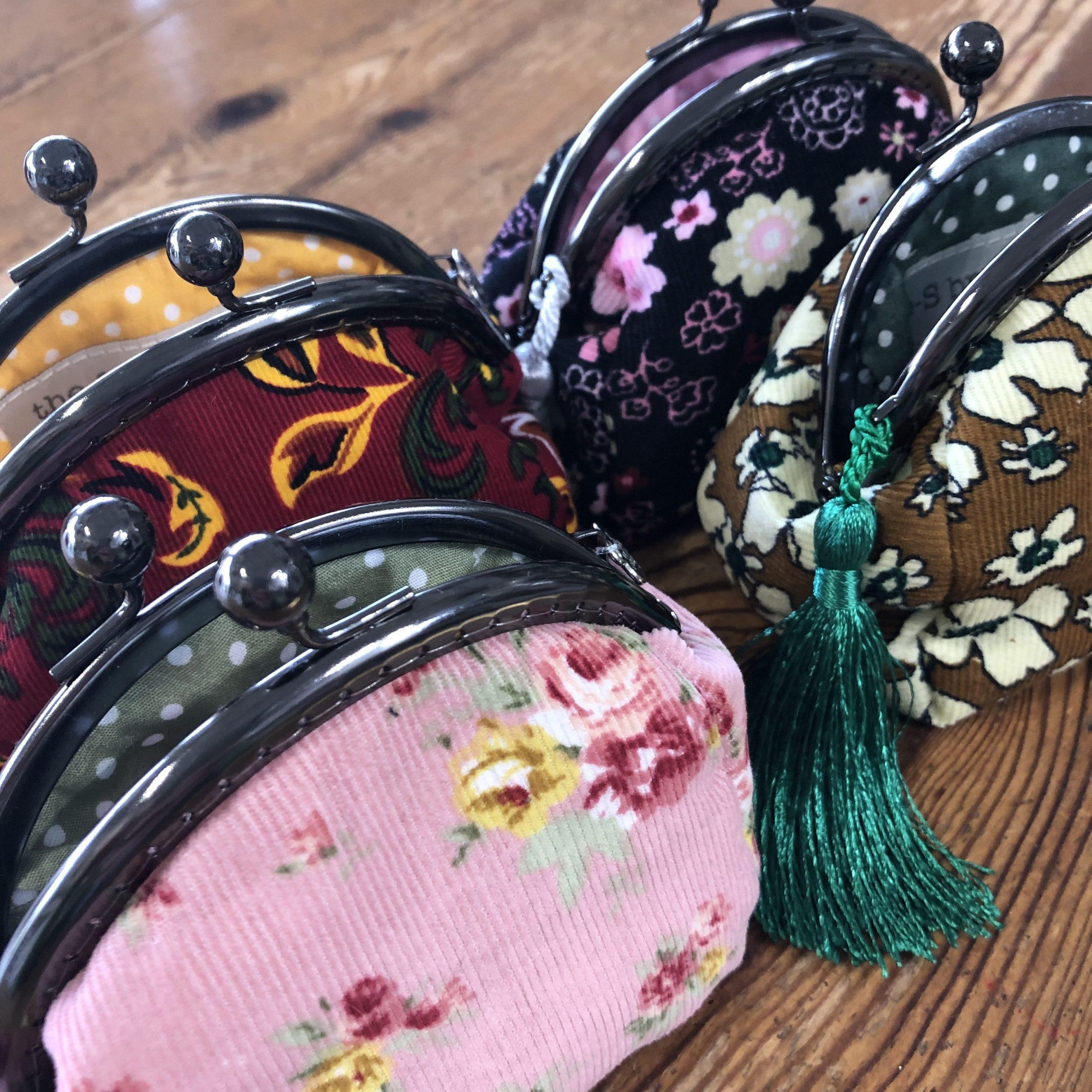 the-S brand : vintage-style, clip frame purse Kit