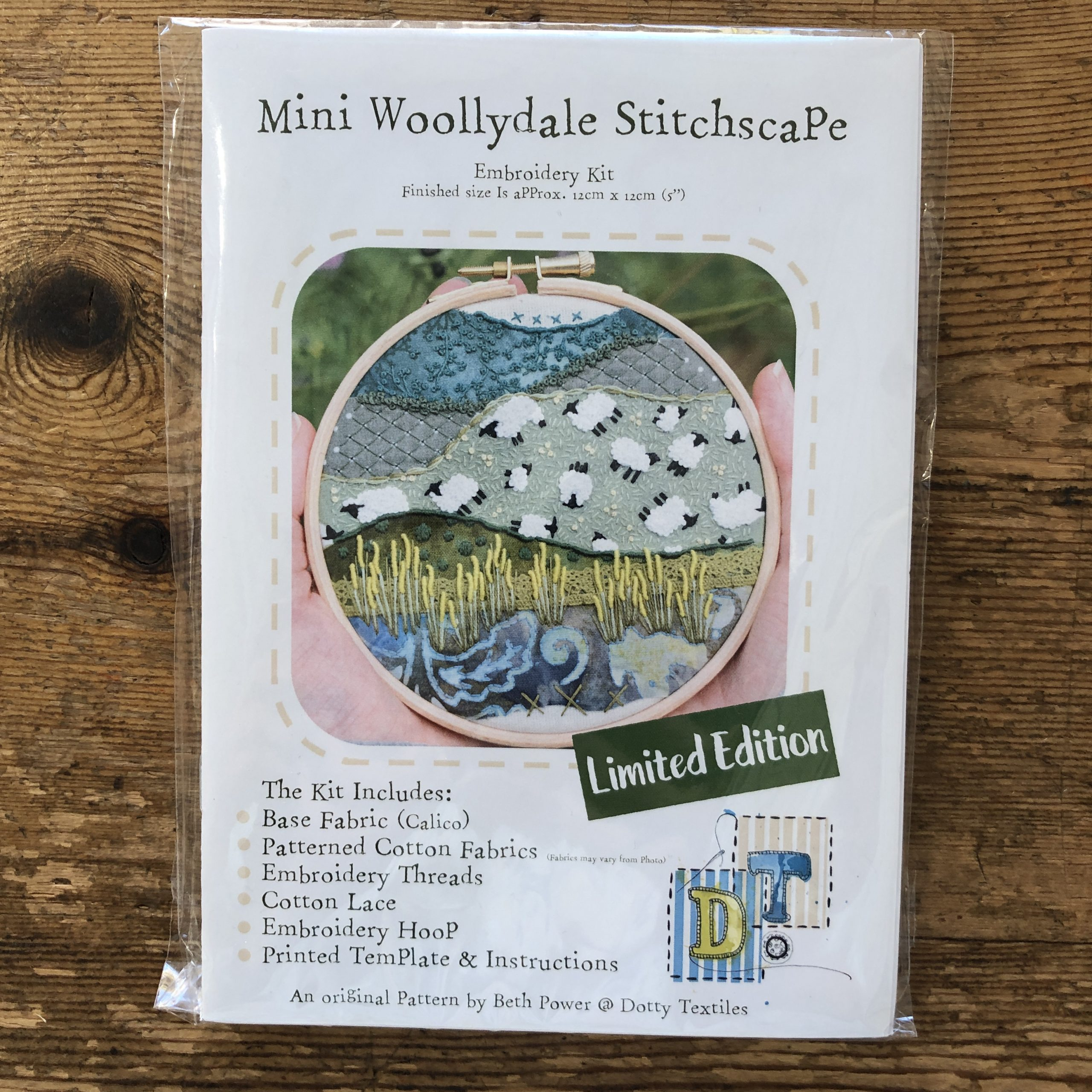 Stitchscape Mini Woollydale Embroidery Kit