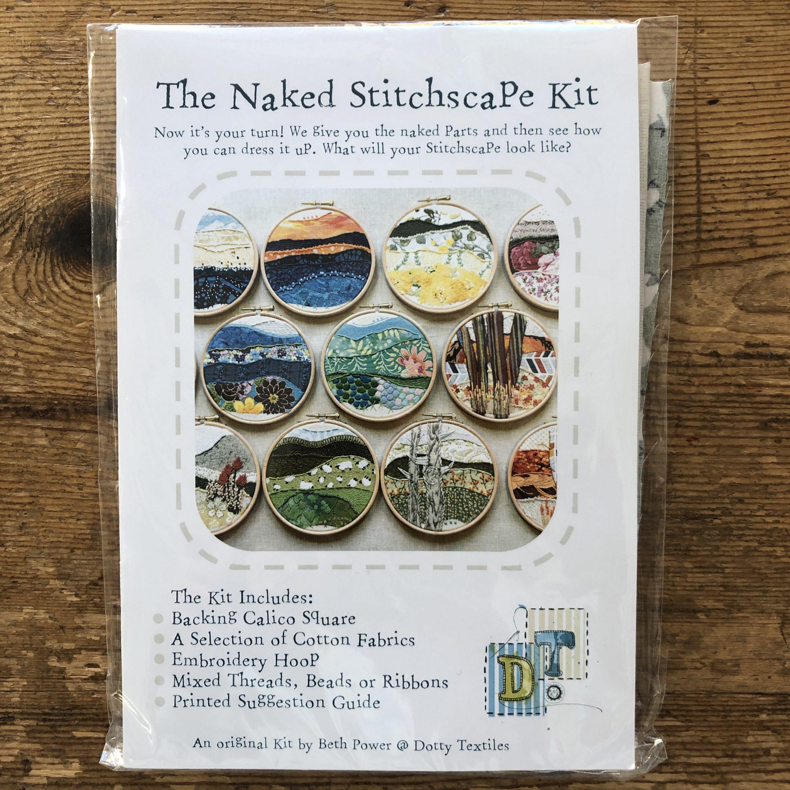 Stitchscape Naked Embroidery Kit